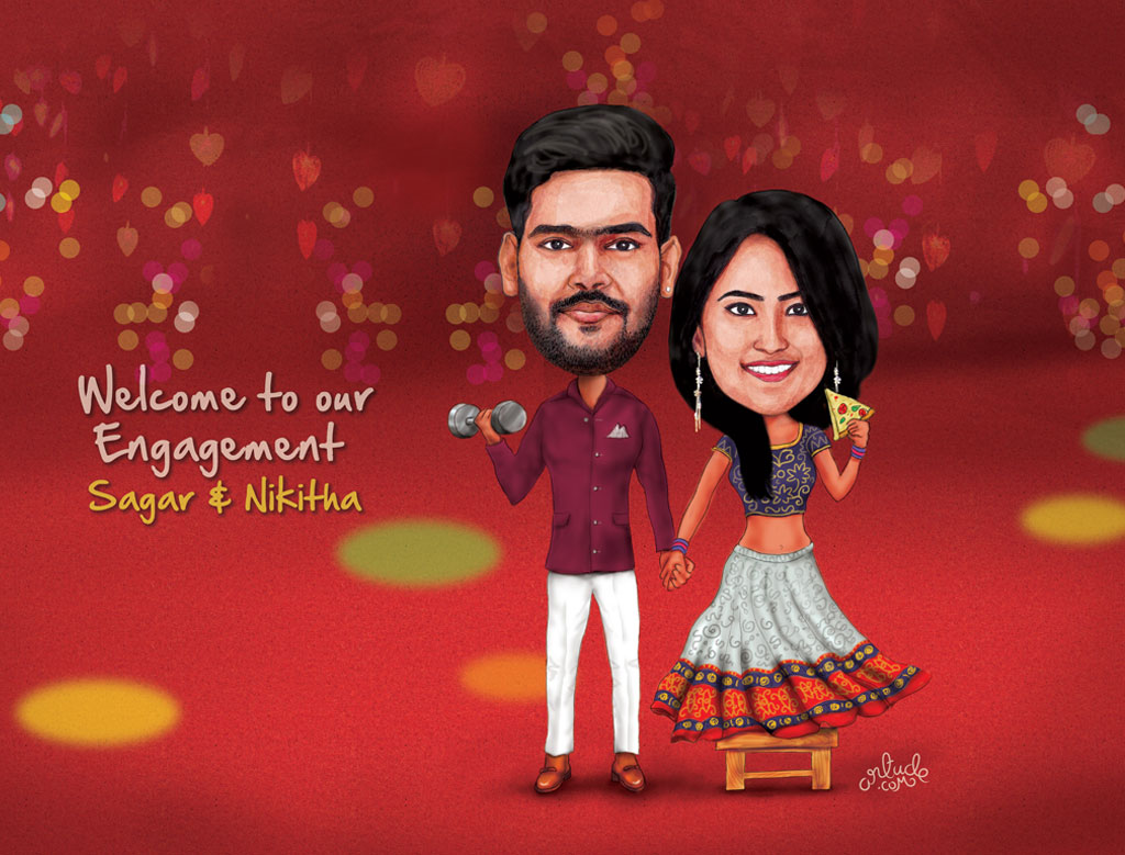The best choice for premium and personalized wedding caricature ...