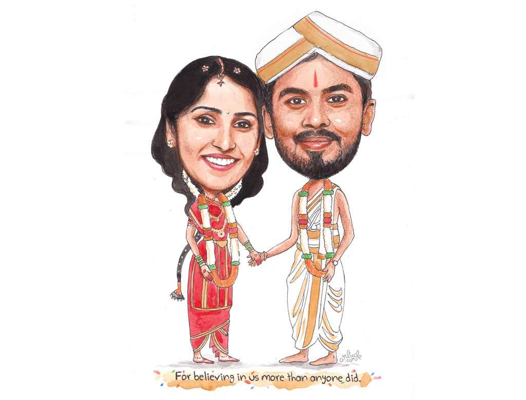 The Best Choice For Premium And Personalized Wedding Caricature Services In Bangalore And Dubai